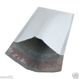 New 250 000 4 x8 Poly Bubble Mailers Padded Envelopes