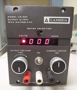 Lambda Lq 524 0 120v 0 0 5a Variable Regulated Digital Power Supply Ships Free