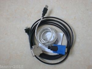 1pc Used Yokogawa Plc Download Cable Usb Communication Cable Km13 1s