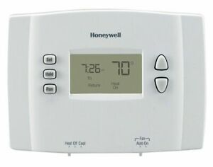 Honeywell Rth221b1021 E1 1 Week Programmable Thermostat In White Heat Cool