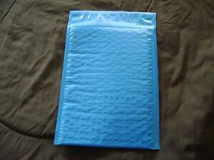 50 Blue 10x15 Bubble Mailer Self Seal Envelope Padded Protective Mailer