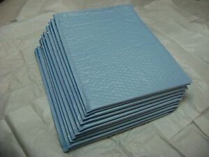 50 Light Blue 10x15 Bubble Mailer Self Seal Envelope Padded Protective Mailer