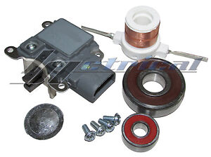 3g Alternator Repair Kit For Ford Voltage Regulator Brush Bearing Set Slip Ring