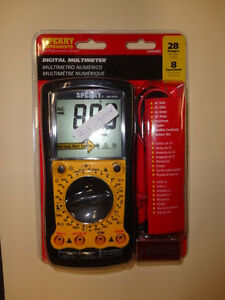 Sperry Instruments Dm6400 Digital Multimeter New