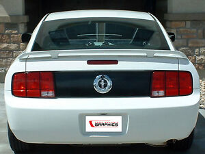 Ford Mustang Rear Blackout Trunk Lid Vinyl Decal Deck Black Out 2005 2006 2007