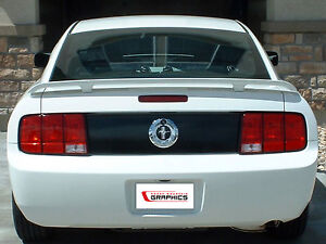 Ford Mustang Rear Blackout Trunk Lid Vinyl Decal Deck Black Out 2008 2009 05 09