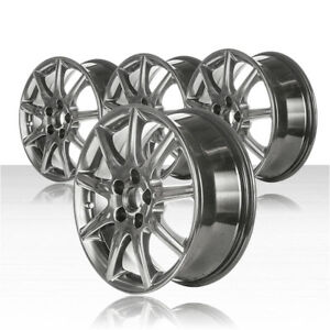 Revolve 17x7 Oe Chrome Wheel For 2006 2010 Buick Lucerne Set Of 4