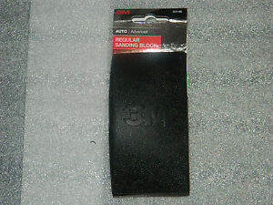 1 Brand New 3m 03148 Regular Comfort Fit Rubber Sanding Block 4 7 8 X 2 5 8