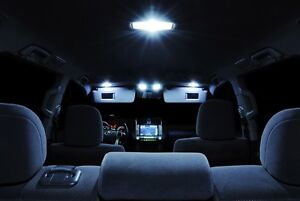 White Interior Led Llights Package Combo Kit For 06 07 08 09 10 11 Dodge Charger
