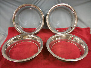 1969 78 Corvette Trim Rings Original