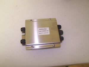 Nema 4x 4 Wire Stainless Steel Junction Box With Summing Card new