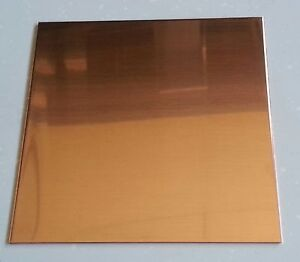 48 Oz 1 16 Flat Copper Sheet Plate 6 X 6