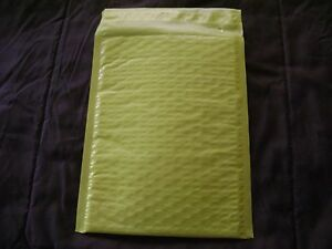 100 Yellow 4 X 8 Color Bubble Mailer Self Seal Envelope Padded Mailer