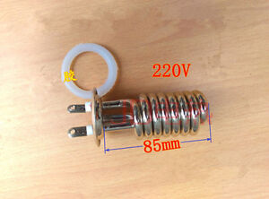Spiral Tubular Water Heaters Heating Element Tube Heater Ac 220v 4kw 4000w