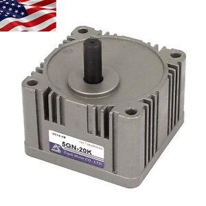 Metal Tooth Gear Head Box 5gn Speed Reducer Ratio 20 1 For Ac dc Gear Motor Part