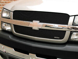 2003 2004 2005 2006 Chevrolet Silverado 1500 2pc Black Mesh Grille Grillcraft