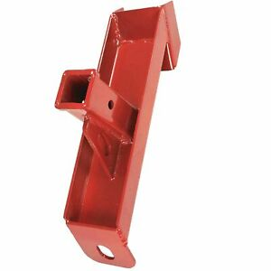 Titan Attachments Trailer And Skid Steer Hitch Adapter For 2 inch Insert Ball