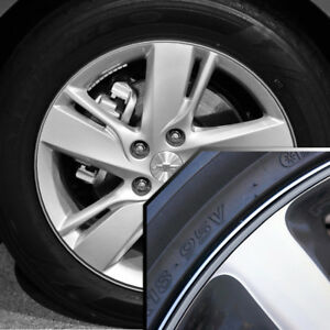Wheel Bands Silver In Black Pinstripe Trim For Chevy Cavalier 13 22 Rims