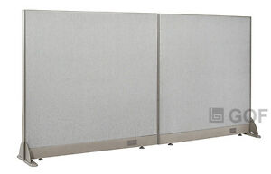 Gof Office Freestanding Partition 84 w X 48 h Office Divider