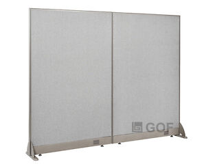 Gof Office Freestanding Partition 72 w X 60 h Office Divider