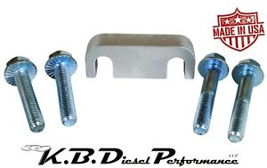 Kbdp 6 6l Duramax Fuel Filter Head Base Spacer Chevy Gmc 2001 16 Cat Adapter