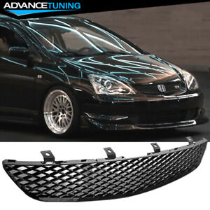 For 02 05 Honda Civic Ep3 Si Hatchback Grill Grille Brand New