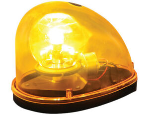 Buyers Products Rl650a 5 5 Amber Halogen Revolving Light