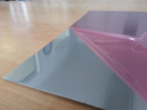 040 Mirror Aluminum Sheet 24 X 24