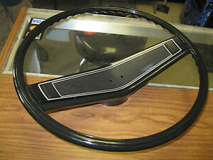 1969 1970 Nova Camaro Impala New Black Steering Wheel Kit