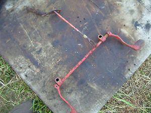 Vintage Ji Case 830 Lp Gas Tractor foot Throttle Shaft 1964