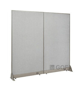 Gof Office Freestanding Partition 60 w X 72 h Office Divider
