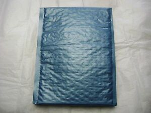 100 Steel Blue 6 X 9 Bubble Mailer Self Seal Envelop Padded Mailer