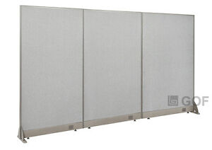 Gof Office Freestanding Partition 90 w X 60 h Office Divider