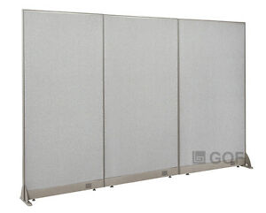 Gof Office Freestanding Partition 90 w X 72 h Office Divider