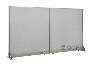 Gof Office Freestanding Partition 96 w X 48 h Office Divider