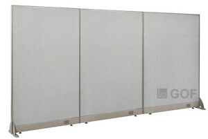 Gof Office Freestanding Partition 108 w X 60 h Office Divider
