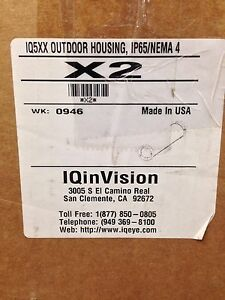 Iqinvision X2 Ip 65 nema4 Outdoor Housing For Iq04xsx iq54x iq510 X2