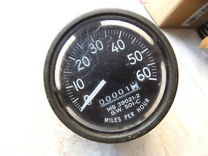 Military Jeep Dodge Reo Ihc Speedometer Rare Un used S w 501 c