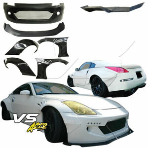 Vsaero Frp Tkyo Bunny Wide Body Kit 10pc For Nissan 350z Z33 03 08