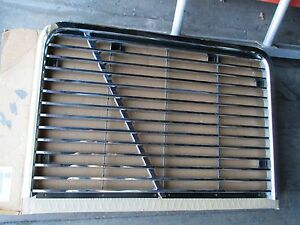 White Gmc Truck Chrome Grille New Oem Part
