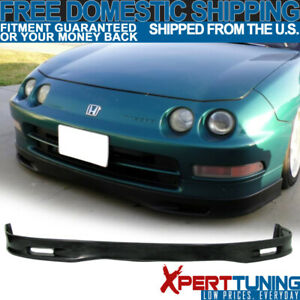 Fits 94 97 Acura Integra Spoon Style Front Bumper Lip Poly Urethane