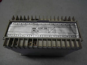 Gec Measurement Istat 200 Wt21s3t039 Transducers From Alstom Used