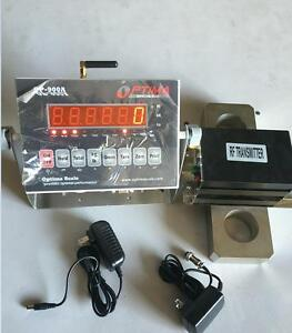 Optima 10 000 Tension Link Wireless Hanging Crane Scale Overhead Load Cell New