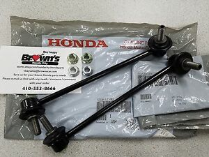 New Genuine Honda Ridgeline Rear Sway Stabilizer Bar End Link Set 2006 2014