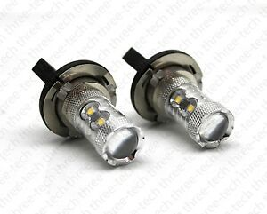 50w H15 Xenon White Cree Led Bulbs For Audi Bmw Mercedes Vw Daytime Lights Drl