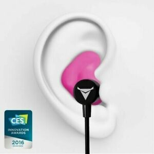 Decibullz Wl2 pnk Custom Molded Fit Wireless Bluetooth Earphones In Pink