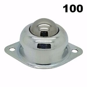 One Hundred 100 5 8 Flange Mounted Conveyor Roller Ball Transfer Bearings