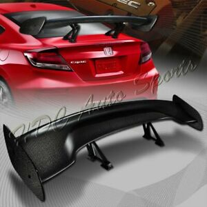 Type 3 Universal 57 Carbon Fiber Adjustable Rear Trunk Gt style Spoiler Wing