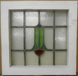Old English Leaded Stained Glass Window Cute Abstract Design 16 75 X 16 5
