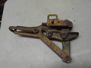 Klein Tools 1656 50h Cable Wire Puller Chicago Grip Line Latch Conductors Used